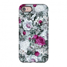 iPhone 8/7  Floral Pattern V by Riza Peker (flowers,roses,romantic,art,design,RizaPeker)