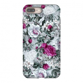 iPhone 8/7 plus  Floral Pattern V by Riza Peker (flowers,roses,romantic,art,design,RizaPeker)