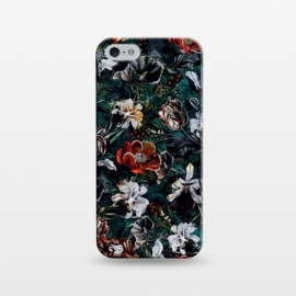 iPhone 5/5E/5s  Floral Pattern VI by Riza Peker (Floral,design,art,botanical,flowers,Rizapeker)