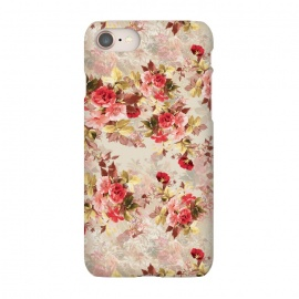 iPhone 8/7  Floral Pattern X by Riza Peker (Flowers,Roses,art,design,RizaPeker)