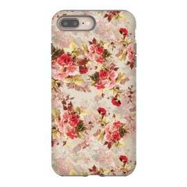 iPhone 8/7 plus  Floral Pattern X by Riza Peker (Flowers,Roses,art,design,RizaPeker)