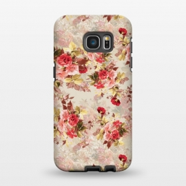 Galaxy S7 EDGE  Floral Pattern X by Riza Peker