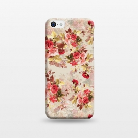 iPhone 5C  Floral Pattern X by Riza Peker (Flowers,Roses,art,design,RizaPeker)