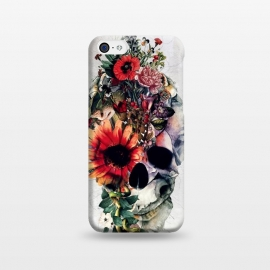 iPhone 5C  Two Face Skull by Riza Peker