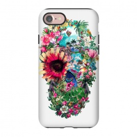 iPhone 8/7  Summer Skull II by Riza Peker (skull,art,birds,butterflies,digital,design,rizapeker)