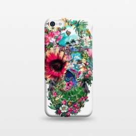 iPhone 5C  Summer Skull II by Riza Peker
