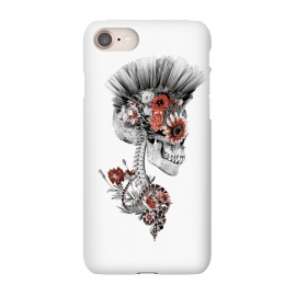 iPhone 7 SlimFit Momento Mori Punk II by Riza Peker (skull,snake,tattoo,art,design,rizapeker)
