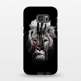 Galaxy S7 EDGE  Lion BW by Riza Peker