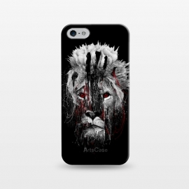 iPhone 5/5E/5s  Lion BW by Riza Peker