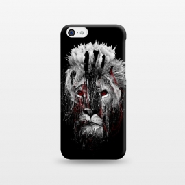 iPhone 5C  Lion BW by Riza Peker