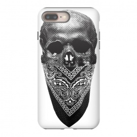 Original Gangster by Rui Faria (skull,bandana,black and white,head skull,gangster,gangasta)