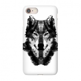 iPhone 8/7  The Black Forest Wolf  by Rui Faria