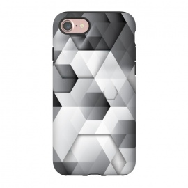 iPhone 8/7  Black Geometrics  by Rui Faria