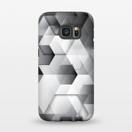 Galaxy S7  Black Geometrics  by Rui Faria