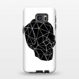 Galaxy S7 EDGE  Space Skull by Rui Faria