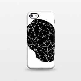 iPhone 5C  Space Skull by Rui Faria