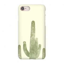 iPhone 7 SlimFit Cactus by Rui Faria (cactus,desert,ink,paint,landscape,hot,summer,spring)