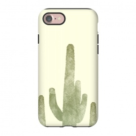 iPhone 8/7  Cactus by Rui Faria (cactus,desert,ink,paint,landscape,hot,summer,spring)