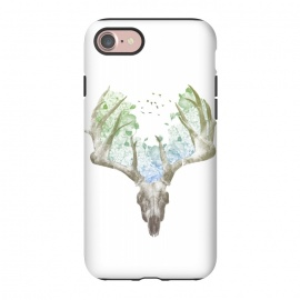 iPhone 8/7  Deer Skull by Rui Faria (deer,stag,deer skull,skull,nature,spring,summer,animal,animals)