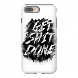 Get Shit Done by Rui Faria (get shit done,type,typography,ink,paint)