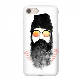 iPhone 7 SlimFit Hipster Chillin by Rui Faria (hipster,beard,sunglasses,summer,spring,ink,paint,man,fashion)