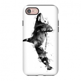 iPhone 8/7  Killer Whale by Rui Faria (whale,killer whale,animal,animals,wild animal,paint,ink)
