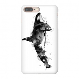 iPhone 8/7 plus  Killer Whale by  (whale,killer whale,animal,animals,wild animal,paint,ink)