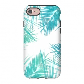 iPhone 7 StrongFit La Tropic by Rui Faria (nature,palm,summer,tropical,ink,paint)