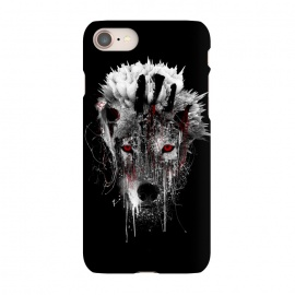 iPhone 7  Wolf BW by Riza Peker (Wolf,wilanimals,animals,art,Rizapeker)