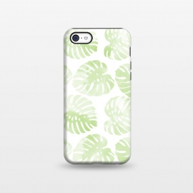 iPhone 5C  monsteras by Rui Faria (pattern,monstera,ink,paint,monstera deliciosa,tropical,summer)