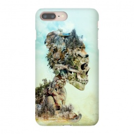 iPhone 8/7 plus  Nature Skull by Riza Peker (skull,animals,tiger,falcon,wolf,rabbit,surreal,art,collage)