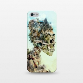 iPhone 5/5E/5s  Nature Skull by Riza Peker