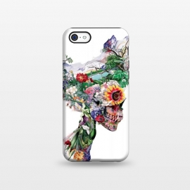 iPhone 5C  Nature Skull II by Riza Peker