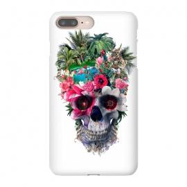 iPhone 8/7 plus  Summer Skull III by  (floral,skulls,summer,colors,tropical,surreal,art,design,rizapeker)