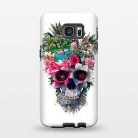 Galaxy S7 EDGE  Summer Skull III by Riza Peker