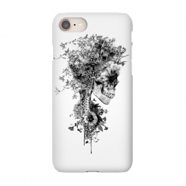 iPhone 7 SlimFit Skull BW by Riza Peker (skull,snake,tattoo,art,rizapeker)