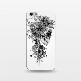 iPhone 5/5E/5s  Skull BW by Riza Peker