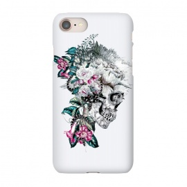 iPhone 7 SlimFit Momento Mori Rev V by Riza Peker (skull,floral,snake,tattoo,design,surreal,art,rizapeker)