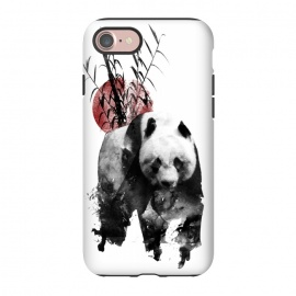 iPhone 8/7  Rising Sun Panda by Rui Faria (panda,japan,rising sun,sun,ink,paint)
