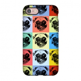 iPhone 8/7  pugs by Rui Faria (pugs,pop,pop art,color,paint,ink,animal,dogs,dog)