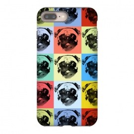 pugs by Rui Faria (pugs,pop,pop art,color,paint,ink,animal,dogs,dog)