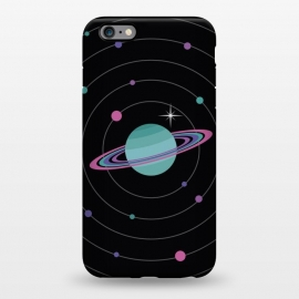 iPhone 6/6s plus StrongFit Planet & Bright Star by Dellán (Galaxy,planets,astronomy,astrology,milky way,space,ufo,martians,trendy,geek,nerd,universe,newton,einstein,future,ovni,stars,alien,saturn,retro)