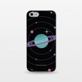 iPhone 5/5E/5s  Planet & Bright Star by Dellán (Galaxy,planets,astronomy,astrology,milky way,space,ufo,martians,trendy,geek,nerd,universe,newton,einstein,future,ovni,stars,alien,saturn,retro)