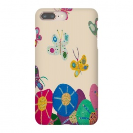 iPhone 8/7 plus  Butterflies Garden by Helen Joynson (fun modern)