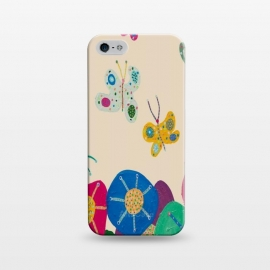 iPhone 5/5E/5s  Butterflies Garden by Helen Joynson