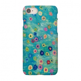 iPhone 7 SlimFit Colours of Happiness by Helen Joynson (modern fun)