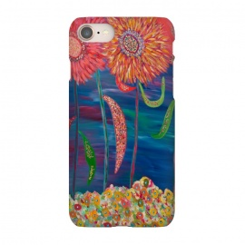 iPhone 7 SlimFit Blooms of Mars by Helen Joynson (modern fun)