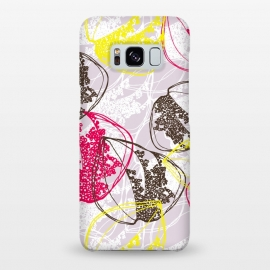 Galaxy S8+  Organic Retro Leaves by Rachael Taylor ()