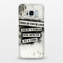 Galaxy S8+  This is your life by Nicklas Gustafsson (movie,quote,stencil,spray,paint,graffiti,wall,spatter,life,ending)