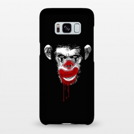 Galaxy S8+  Evil Monkey Clown by Nicklas Gustafsson (monkey,chimp,ape,chimpanzee,clown,evil,blood)
